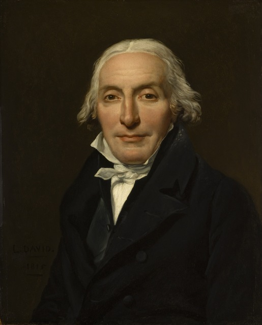 Jacques-Louis David, 'Portrait of Jean-Pierre Delahaye', 1815, Painting, Oil on panel, Los Angeles County Museum of Art