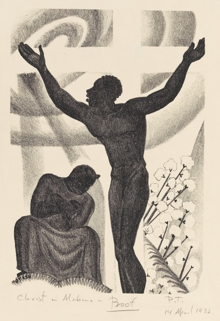 , 'Christ in Alabama, from the portfolio Scottsboro,' 1932, Grey Art Gallery