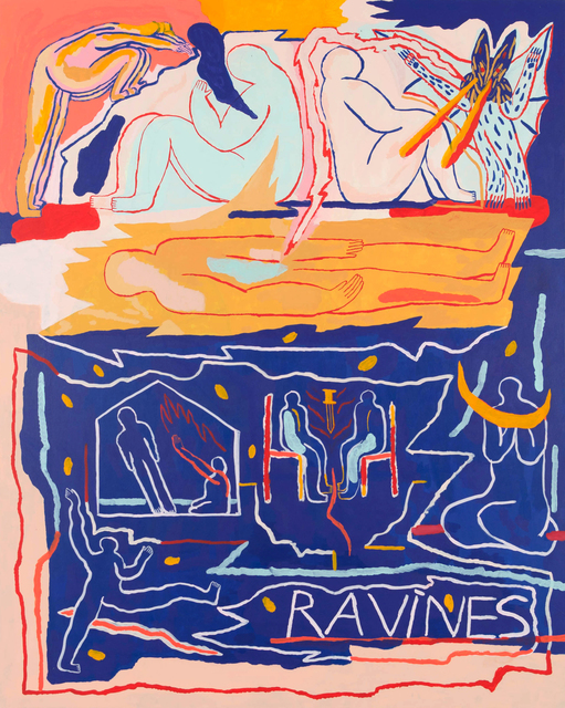 , 'Ravines,' 2018, Urban Spree Galerie
