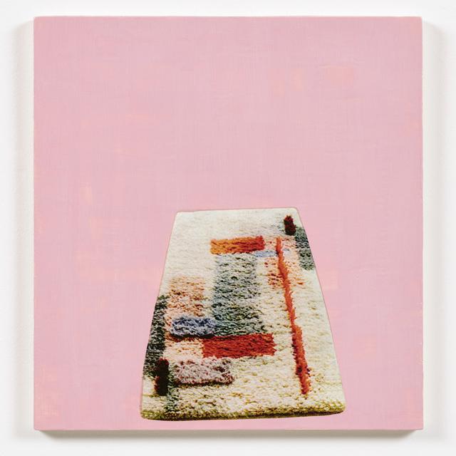 , 'ALDI (Teppich) rosa,' 2016, Espacio Mínimo