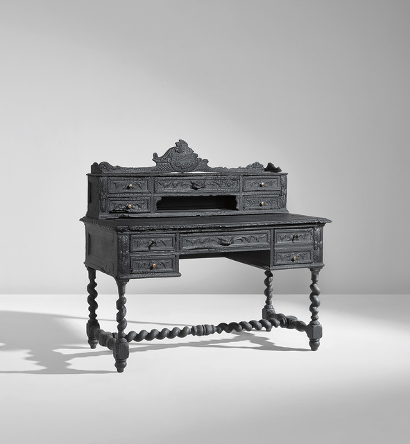 """Maarten Baas, 'Unique """"Smoke"""" writing desk', 2013, Phillips"""