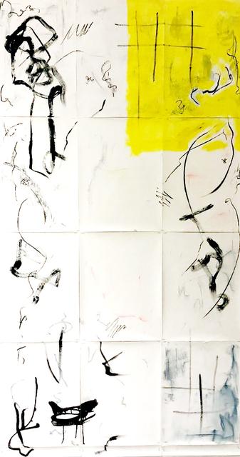 , 'One Titel (Gelb Ip),' 2018, Galerie Britta von Rettberg