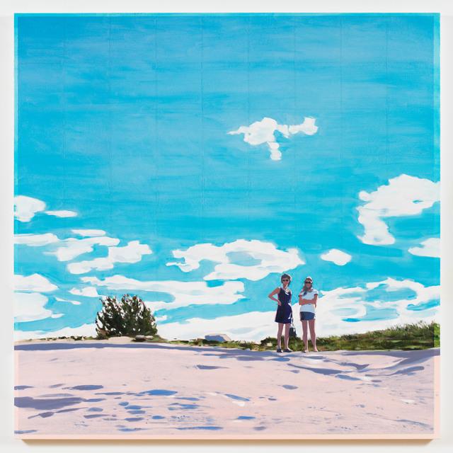 , 'Two Girls,' 2018, Berggruen Gallery