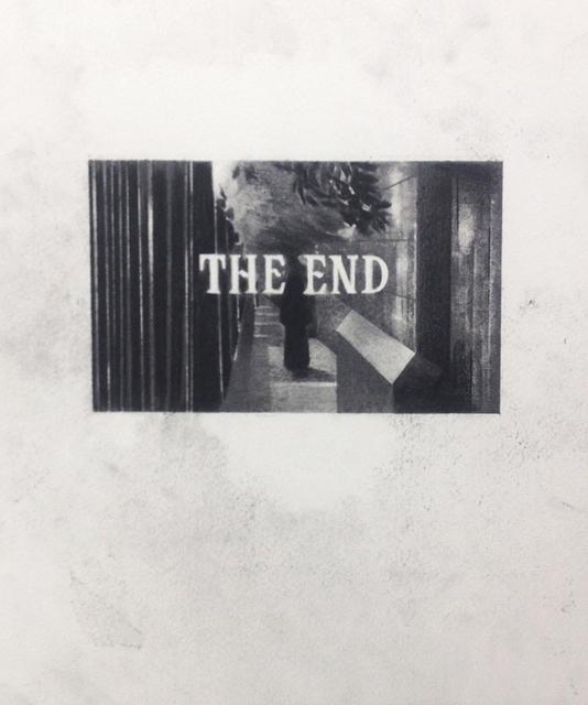 , 'The End (12),' 2014, Galleri Tom Christoffersen
