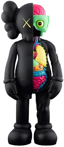 KAWS, 'DISSECTED 5YL COMPANION BLACK', 2007, Dope! Gallery