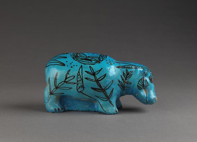 'Hippopotame (Hippopotamus) ', c. 3800-1700 BC, Musée du Louvre