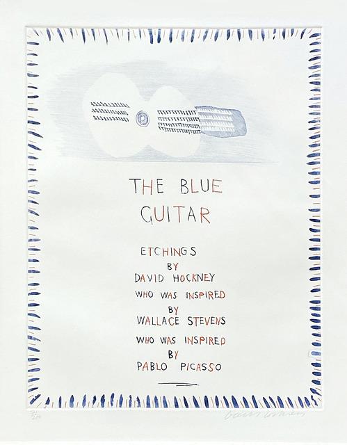 David Hockney, 'The Blue Guitar 1', 1976-1977, Fairhead Fine Art Limited