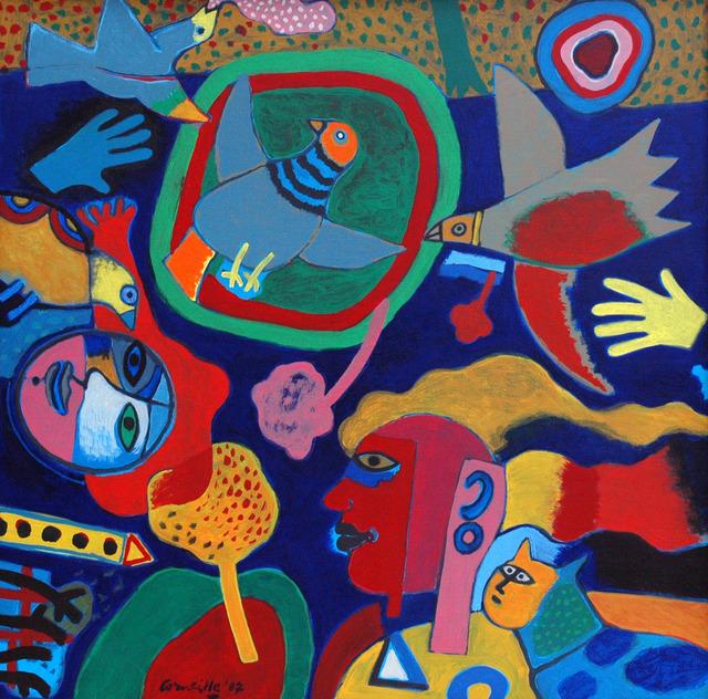 , 'Petite Musique du Printemps,' 1987, DIE GALERIE