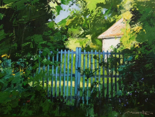 Gerard Mortier, 'La Barriere Bleue', 2018, SmithKlein Gallery