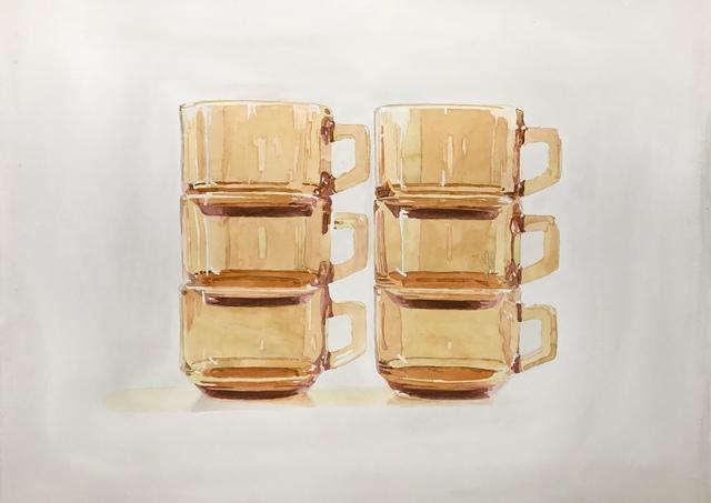 , '6 Cups Stacked,' 2018, Burnet Fine Art & Advisory
