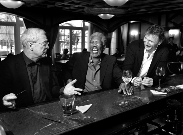 Art Streiber, 'Michael Caine, Morgan Freeman & Liam Neeson', 2005, Los Angeles Center of Photography Benefit Auction