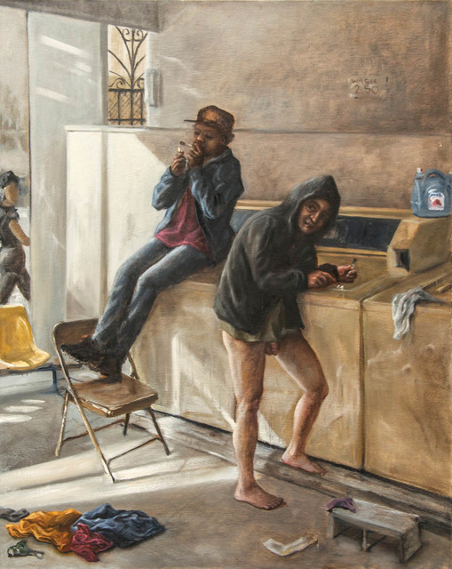, 'Crackheads in the Laundromat ,' 2015, Treason Gallery