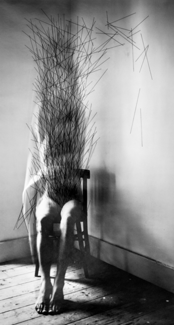 , 'Without A Word of Warning (Chair),' 2017, The Photographers' Gallery