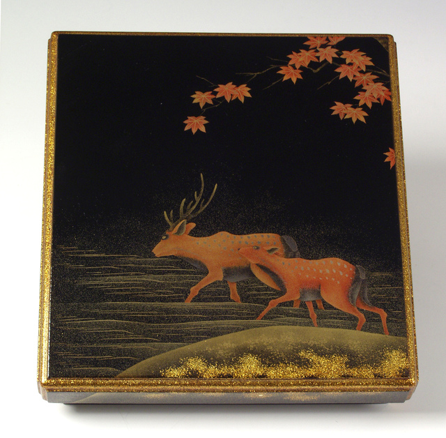 , 'Deer Writing Box (T-1354),' Meiji era (1868-1912) early 20th century, Erik Thomsen