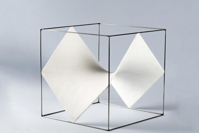 , 'Cube [Division of a cube by six hyperbolic paraboloids],' 1965-1970, GALERÍA JOSÉ DE LA MANO