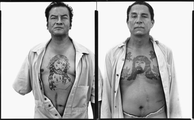 , 'Jesus Cervantes, Manuel Heredia, prisoners, Bexar County Jail, San Antonio, Texas,' 1980, Pace/MacGill Gallery