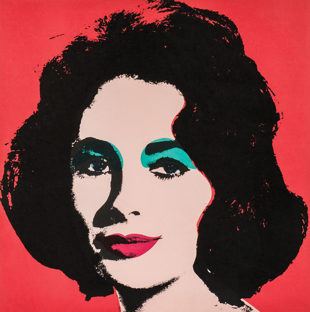 Andy Warhol, 'Liz', 1964, Print, Offset color lithograph on paper, Skinner