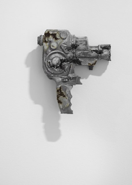 , 'Steel Eroded Bolex Camera,' 2013, Galerie Ron Mandos
