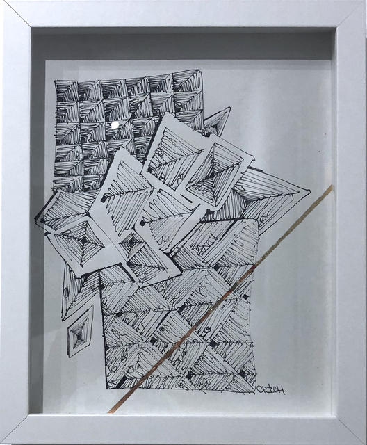 Clarence Rich, 'Maelstrom Drawing 6', 2019, Deep Space Gallery