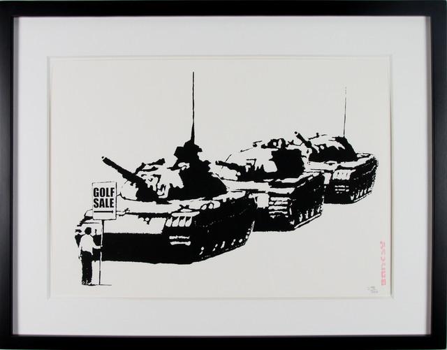 Banksy, 'Golf Sale', 2003, Gormleys Fine Art