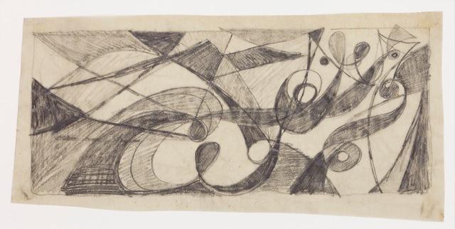 , 'Große Liegende (Die Nacht),' 1950, Jahn und Jahn