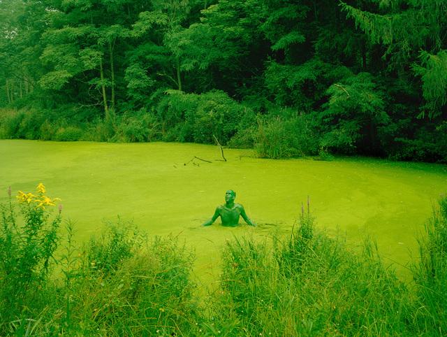 , 'Self Portrait as the Born Feeling Begins,' 2012, Fraenkel Gallery