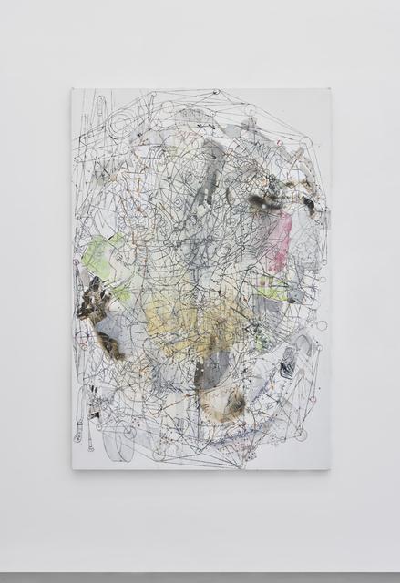 , 'Grand Visage Tchado,' 2010, Galerie Christophe Gaillard