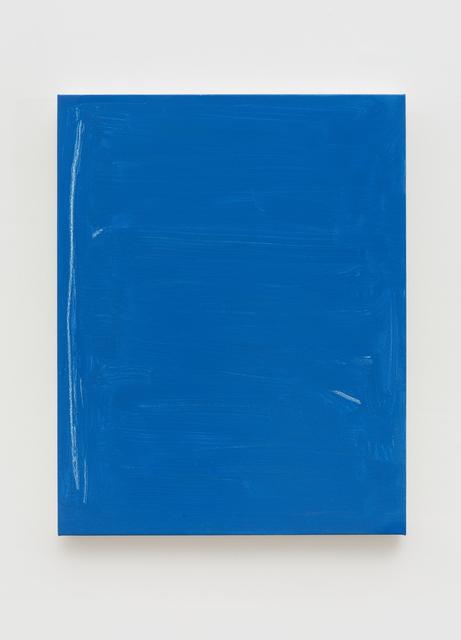, 'R Blue,' 2017, Pékin Fine Arts