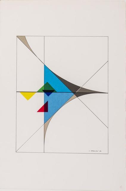 Luigi Veronesi, 'Senza Titolo', 1974, Itineris