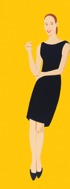 , 'Black Dress (Ulla),' 2015, McClain Gallery