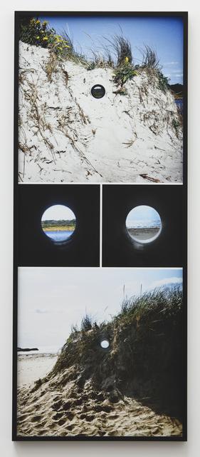 , 'Views Through a Sand Dune,' 1972, Parafin