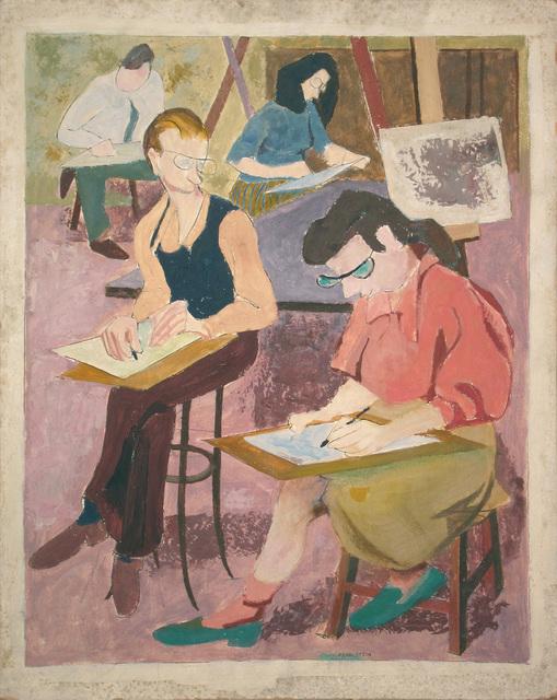 , 'Art Class,' 1946-1947, Andy Warhol Museum