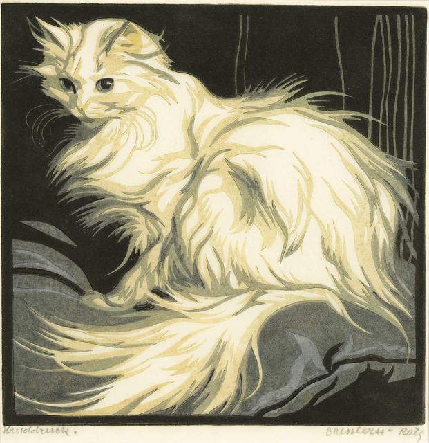 Norbertine Bresslern-Roth, 'Angora cat', 1925, Galerie Kovacek & Zetter