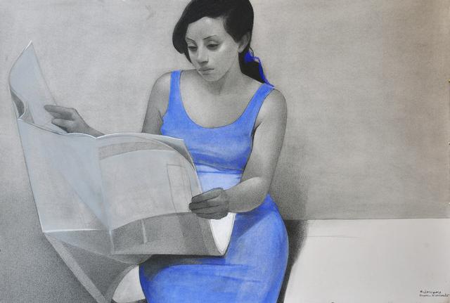 , ' Etude numero 5,' 2018, Hafez Gallery
