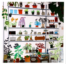 Large Shelf Still Life Poster