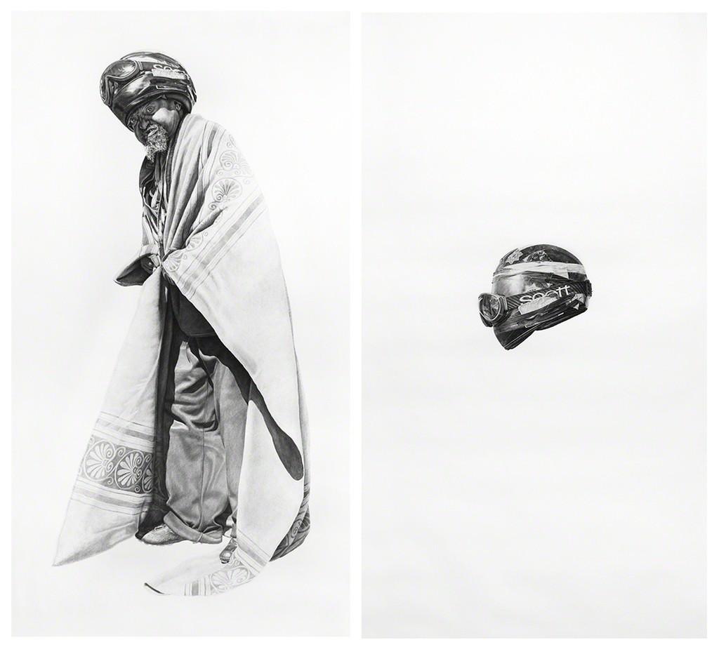 Spaceman #7 and Spaceman's Helmet