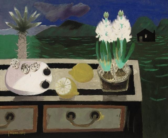 Mary Fedden, 'The White Hyacinth', 1984, Portland Gallery