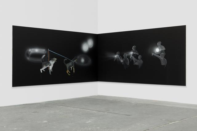 , 'Corner Projection (Training),' 2019, 303 Gallery