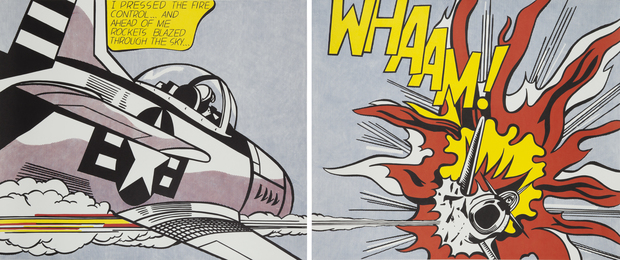 Whaam! (Diptych)