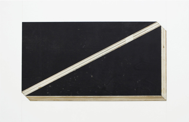 , 'Stack (Black) 4,' 2015, BACKSLASH