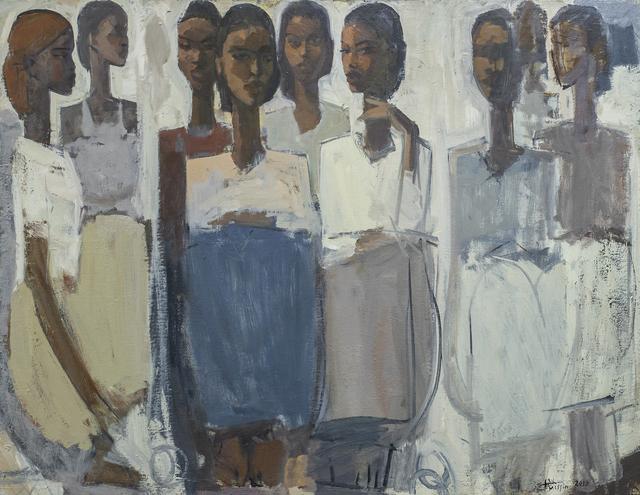 , 'Pillars of Life: Friendship,' 2018, Addis Fine Art