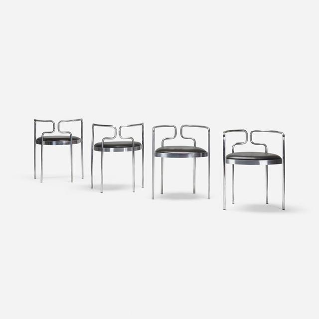 Henning Larsen, 'armchairs model 9230, set of four', 1967, Wright