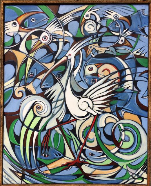 Alex Beard, 'Fish and Bird Study', 2015, Independent Curators International (ICI) Benefit Auction