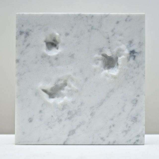 Jean-Baptiste Caron, 'Les secondes devenant des millénaires n°1', 2016, Sculpture, Carrara marble, 22,48m2