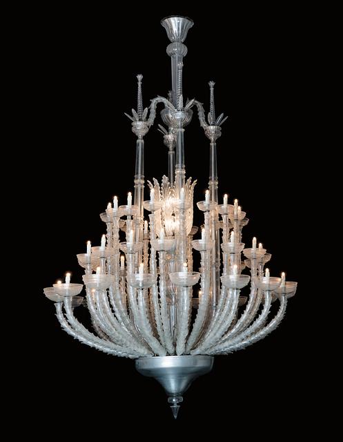 Napoleone Martinuzzi, 'Unique monumental chandelier', 1960s, Phillips
