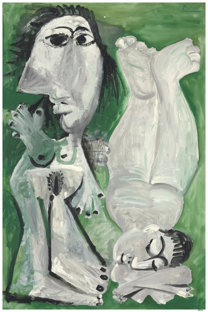 Pablo Picasso, 'Two Reclining Nudes', 1968, Clark Art Institute