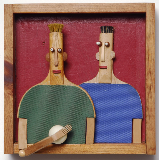 , 'Ping Pong Guys,' , Clark Gallery