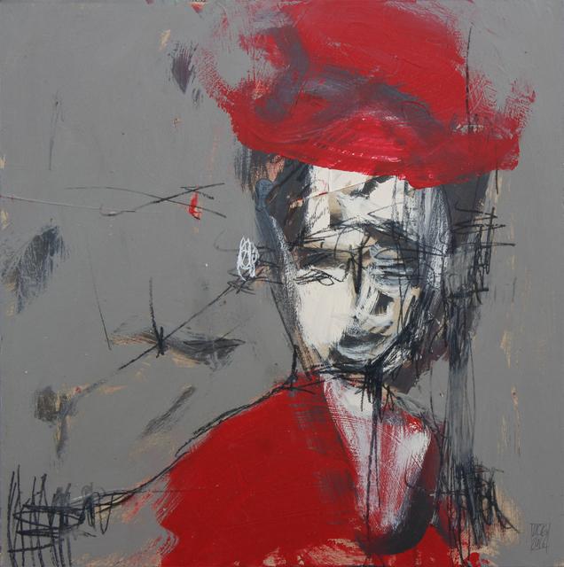 Michael Gadlin, 'Red Hat #2', 2016, La Napoule Art Foundation