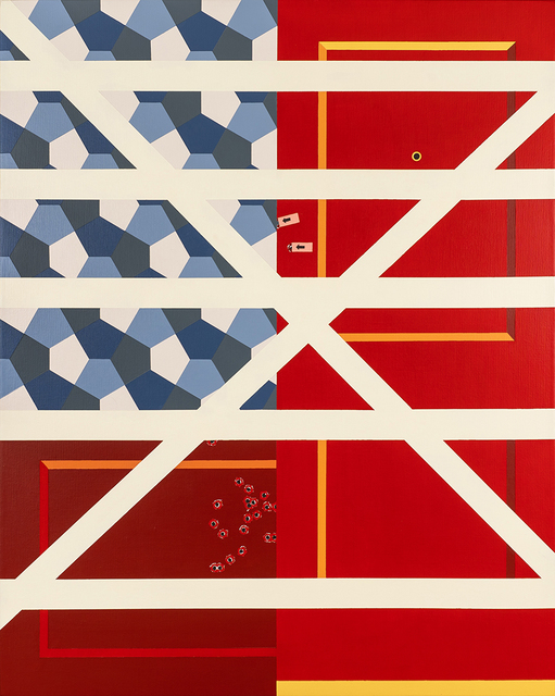 , 'Gatehouse (Breached),' 2018, M Contemporary Art