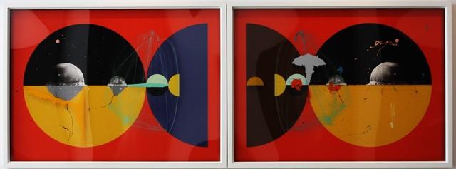 , 'Half Life Form VII & IX (Diptych),' 2012, Aicon Gallery